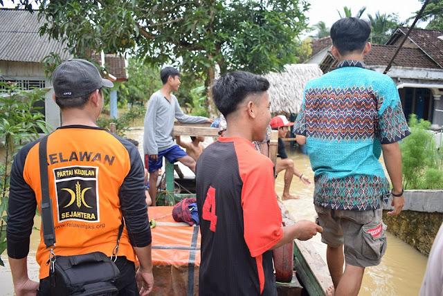PKS Tanggap Banjir di Seluruh Wilayah Indonesia
