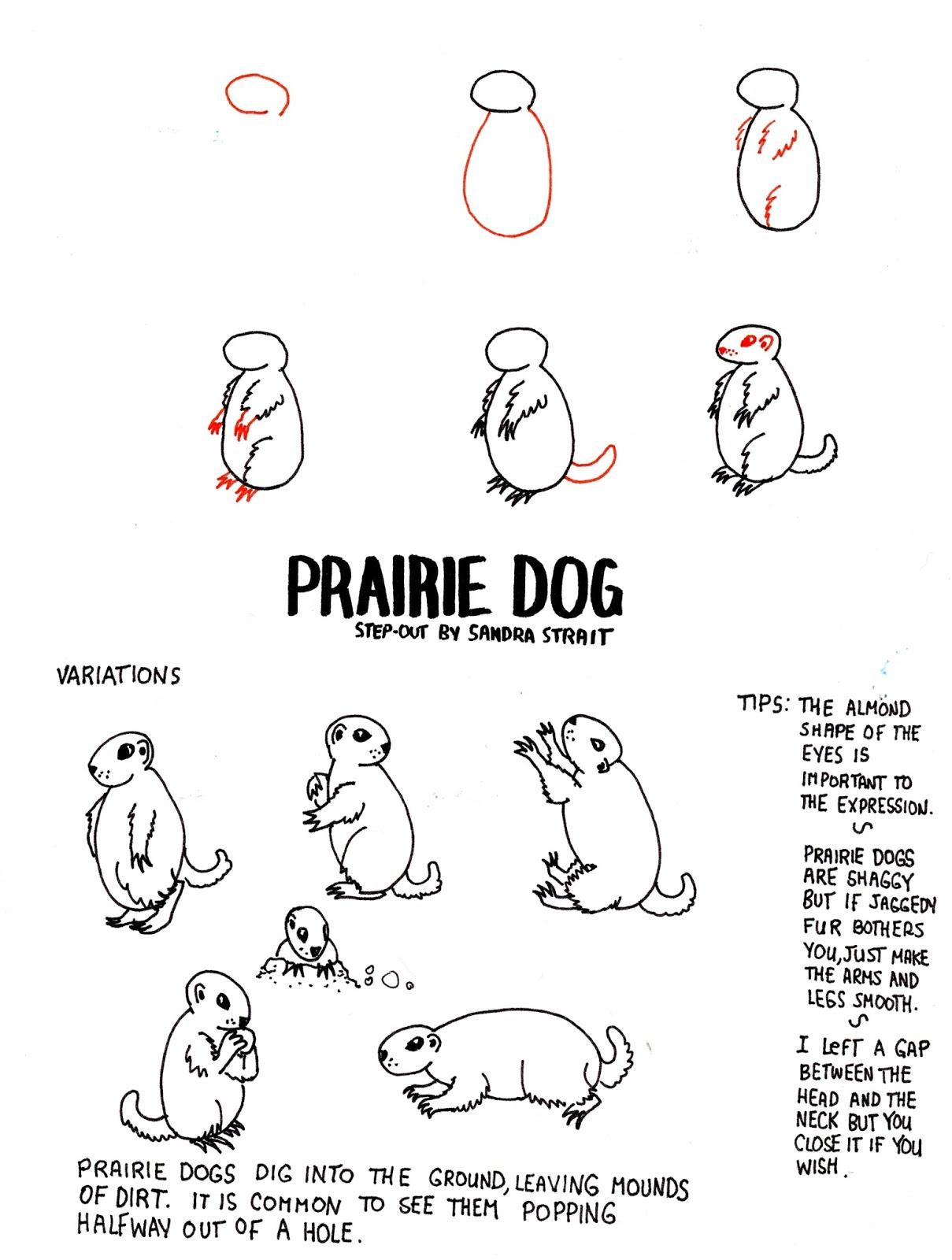 Prairie Dog Fantasy Landscape Step Out Fantasylandscape