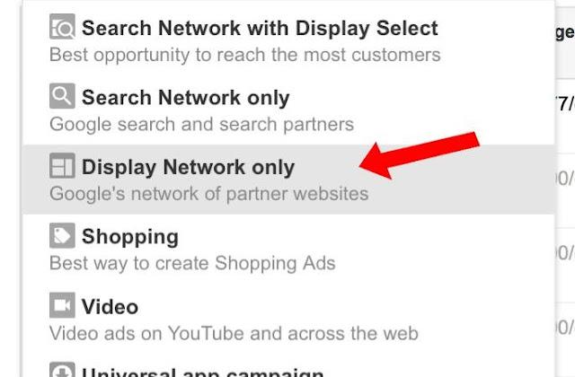 Tạo chiến dịch quảng cáo Google Display Network