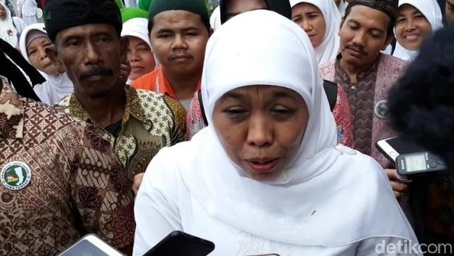Ingin Fadli Zon Minta Maaf ke Mbah Moen, Khofifah: Tunjukkan Sikap Negarawan