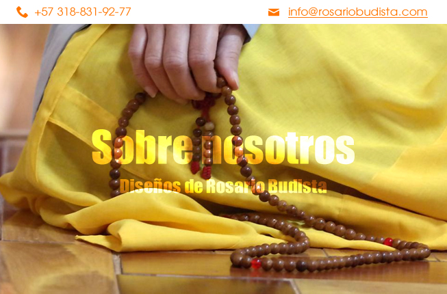 Información sobre rosarios budistas en Bogota