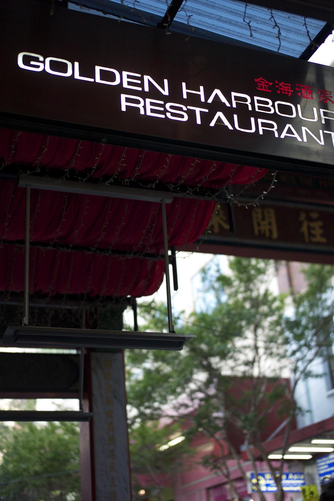 Curry Crab Golden Harbour Restaurant Dixon St Mall Chinatown Sydney