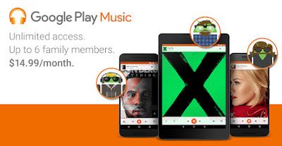 Google Play Music: Now playing for your family