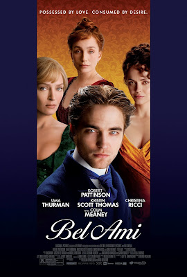 Bel Ami - A romantic drama movie starring Robert Pattinson.
