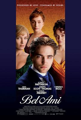 Bel Ami - Un drama romántico protagonizado por Robert Pattinson.