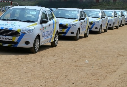 Muthoot Pappachan Group launches Advanced Technology Vehicles in North for Emergency Response Team