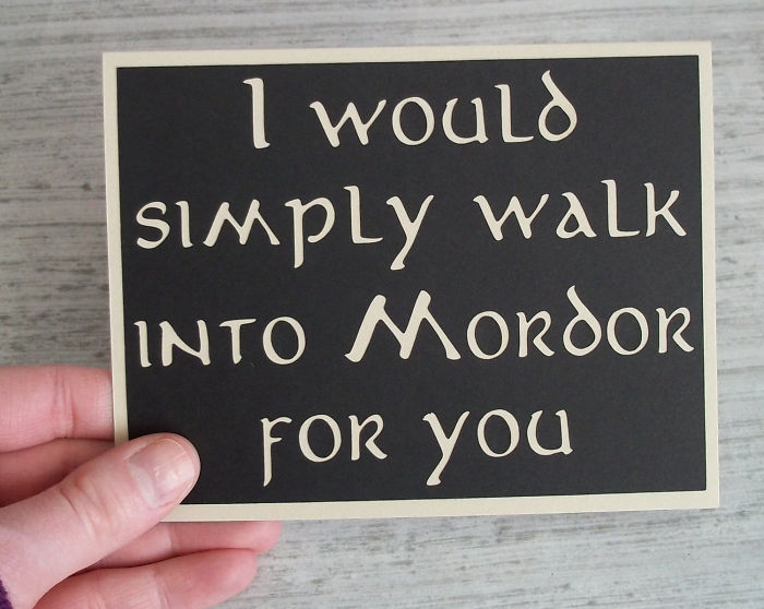 I would simply walk into Morsor
