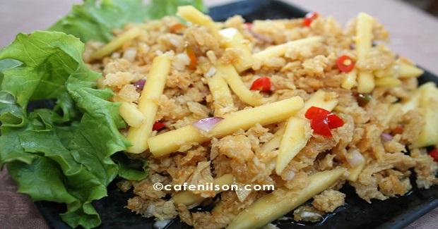 Crispy Shredded Catfish Spicy Salad Recipe