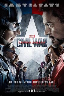Captain America Civil War movie poster