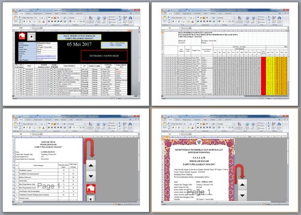 Aplikasi Cetak Nilai Ijazah 2017 Format Microsoft Excel Sesuai Juknis