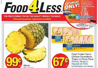 Food 4 Less Weekly Ad May 16 - May 22, 2018