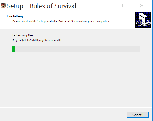 rules of survival install