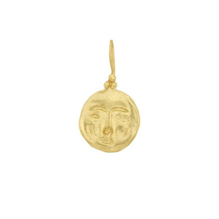 18k gold plated Moon Face Pendant – Cleopatra's Bling – 150 euros - Jewellery Blog - Jewellery Curated