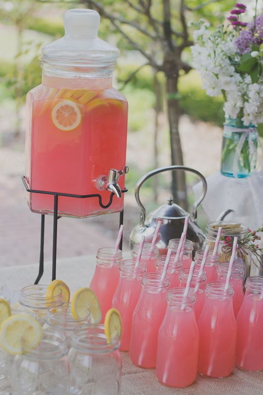 spiked with vodka cocktails for wedding rehearsal dinner