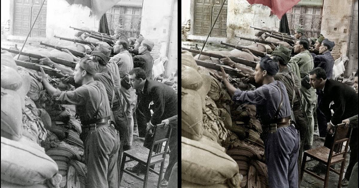 TOLEDO GCE: La Guerra Civil En Color. Parte III