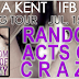 Blog Tour: Random Acts of Crazy by Julia Kent {Guest Post & Giveaway}