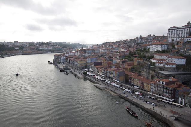 Vista di Porto dal ponte Dom Luis