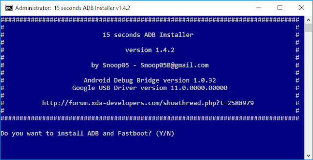 Introduction and Install ADB and Fastboot (Windows, Mac OS X, Linux)