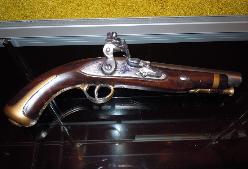 Captain Barbossa pistol prop