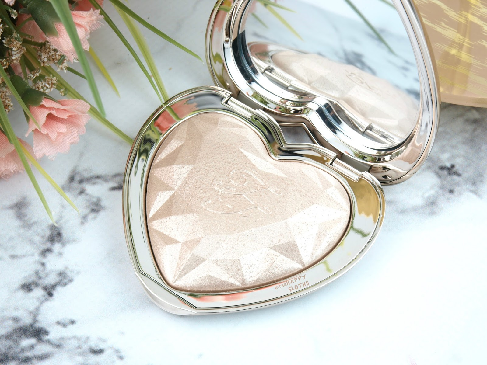 "Too Faced Love Light Prismatic Highlighter in ""Blinded by the Light"": Review and Swatches"