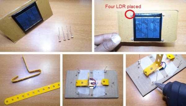 Home made Solar Tracker using Arduino uno R3