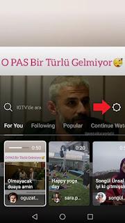 instagram ig tv kanal oluşturma