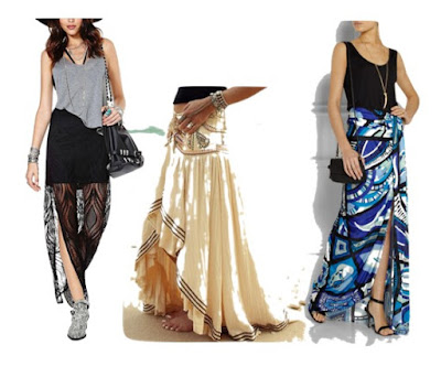 Maxi skirts - any season's favourite
