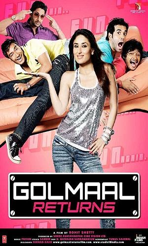 Golmaal Returns (2008) 900MB Full Hindi Movie Download 720p BRRip