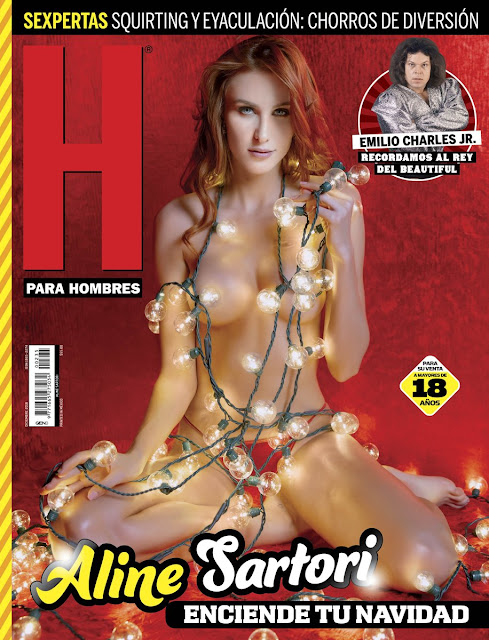 Aline Sartori Revista H Diciembre 2018 [FOTOS+PDF]