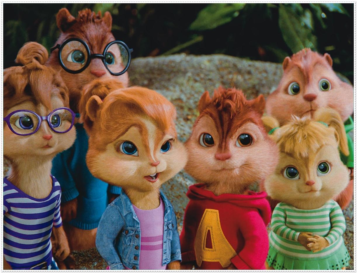 Alvin y las ardillas kit para imprimir gratis ideas y for Alvin y las ardillas