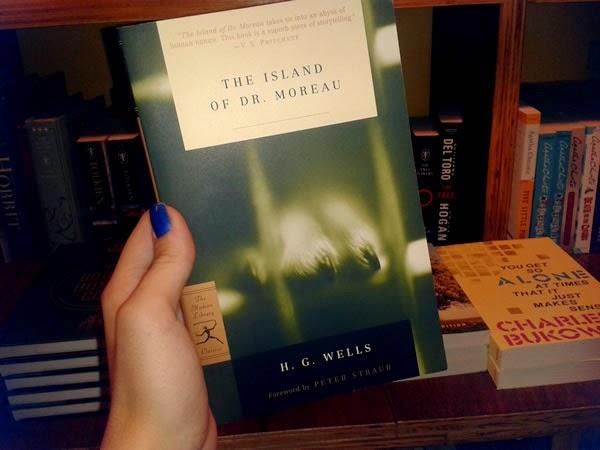 resenha livro A Ilha do Dr. Moreau
