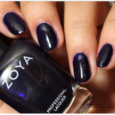 Nail polish swatch and review of Zoya Blake from the Winter 2017 Party Girls collection