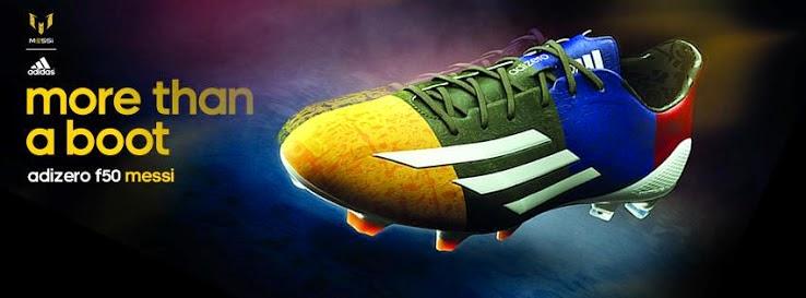 289e23d1dd4 Blaugrana Adidas F50 Adizero Messi Champions League Boot. Adidas has  released a new ...