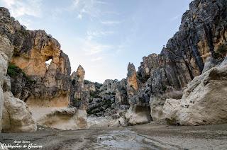 Gigantes de piedra Cañones del Quiebrajano