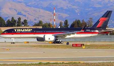 pesawat boeing milik trump