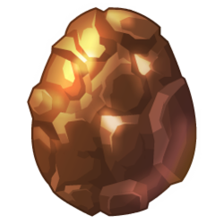 Appearance of Terra Dragon when egg