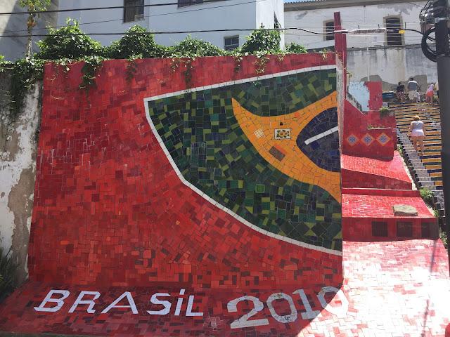 RIO DE JANEIRO, SELARON STEPS