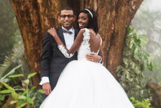 Adelle Onyango Married Wedding Photos Husband Falgun Bhojakis