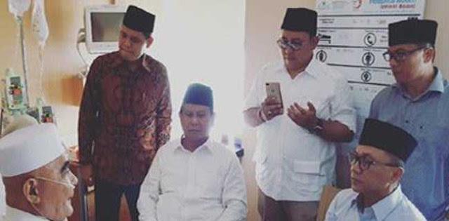 Prabowo: Saya Tak Rela Kekayaan Negara Dicuri Orang Jakarta