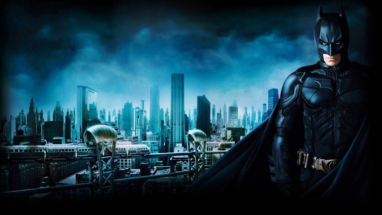 Batman 3 Gotham City HD Wallpaper