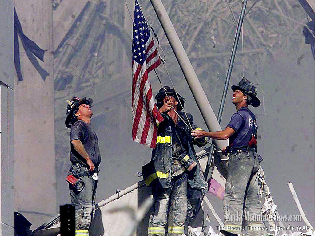 Firefighters are heroes
