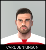 PES 6 Faces Carl Jenkinson by Gabo Facemaker