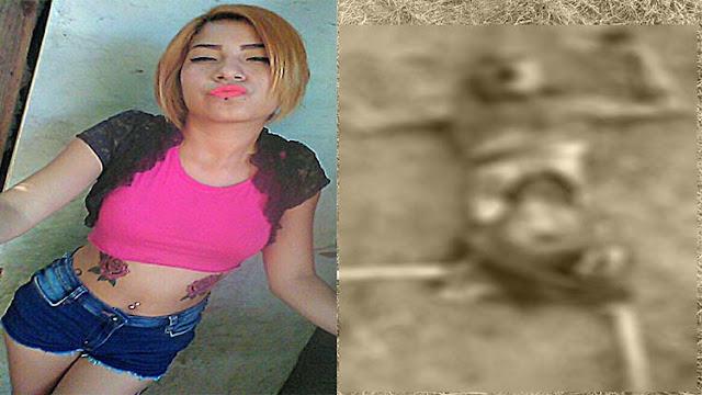 FOTOS: Las imágenes de terror del narco, Joven mujer presumía una vida ligada al narco y es hallada muerta en macabras condiciones en Tamaulipas