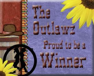 Winner at The Outlawz Challenge Blog