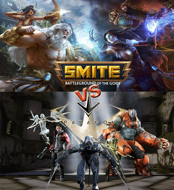 analisis entre Smite vs Paragon