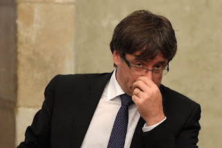 Ousted Catalonian president Carles Puigdemont