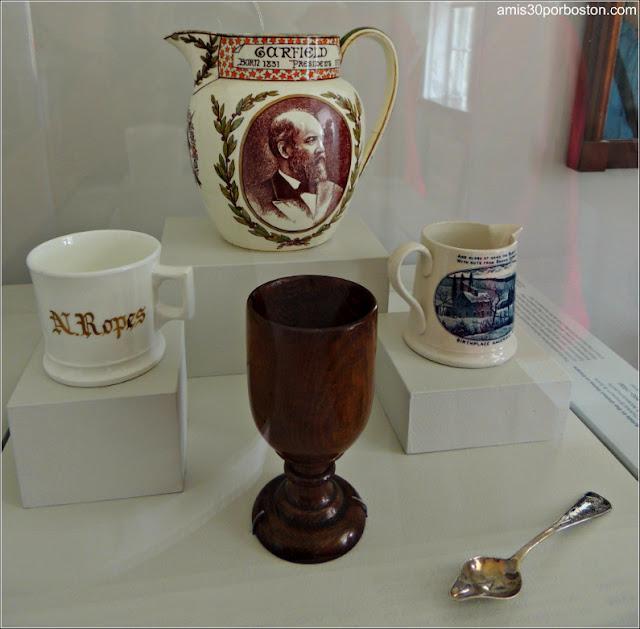 Exhibición de Objetos Personales de la Familia Ropes, Salem