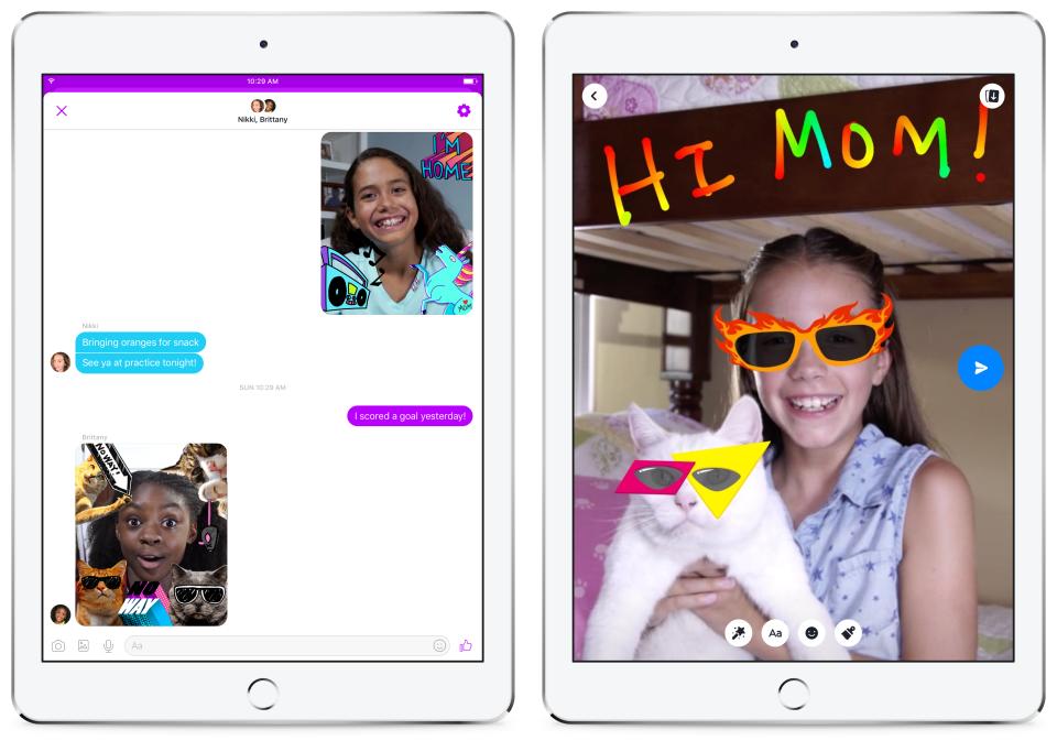 Facebook Luncurkan Messenger Kids Khusus Anak