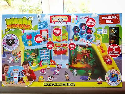 Moshi Monsters Moshling Mall, Moshi Monsters playset, Moshi Monsters Christmas