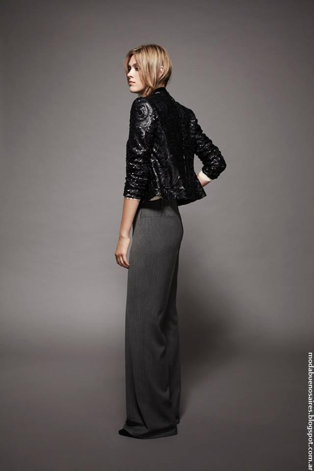 Pantalones de vestir moda invierno 2016. Moda mujer invierno 2016.